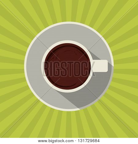 Coffee concept with icon design, vector illustration 10 eps graphic.