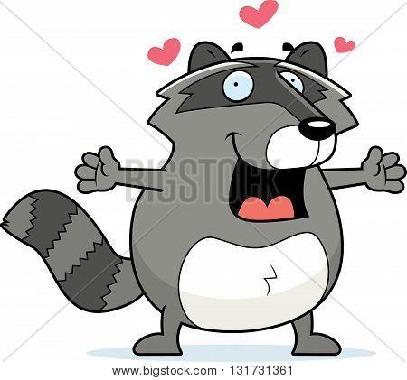 Raccoon Hug