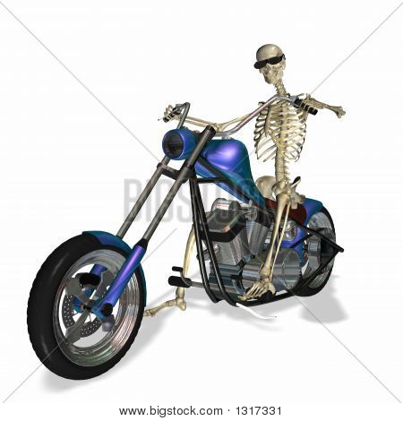 Skeleton Chopper 2