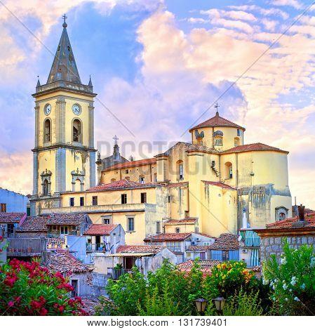 Novara Di Sizilia Village, Sicily, Italy