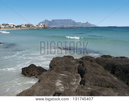 View Of Table Mountain From Blouberg Strand, Cape Town South Africa 31