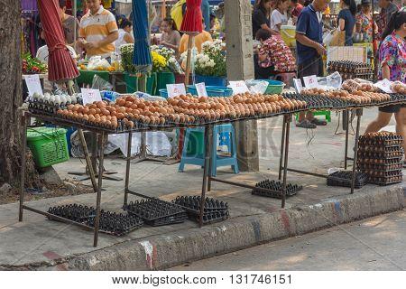 Thai Street Food, Eggs
