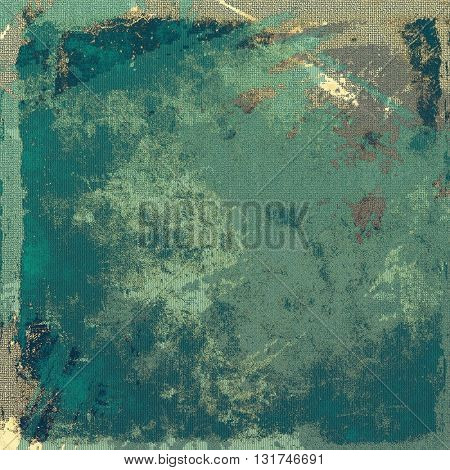 Art vintage texture for background in grunge style. With different color patterns: yellow (beige); brown; gray; blue; cyan