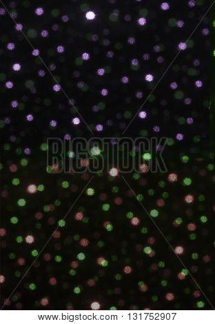 Spots Light Pattern De-focused