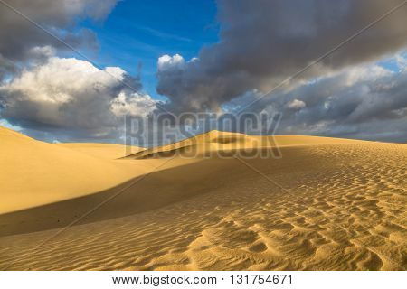 Maspalomas Dunes During Sunrise, Gran Canaria, Spain