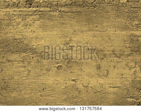 Concrete Background Sepia