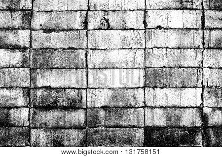 Grunge bricks texture.