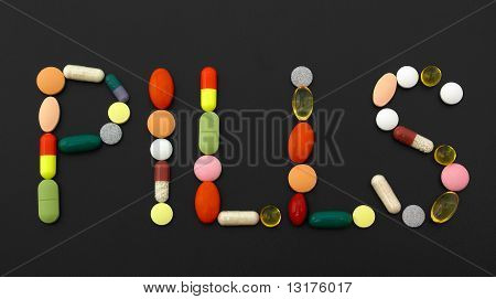 Medecine Stuff. Pills
