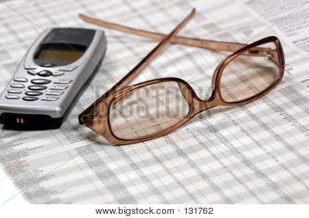 Eyeglasses & Mobile