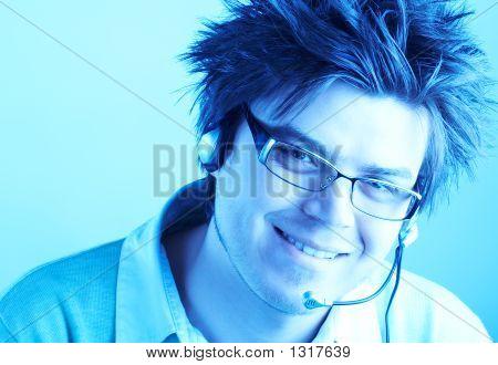 Attractive Customer Representative