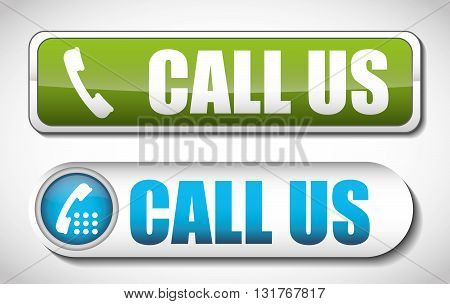 Call concept with icon design, vector illustration 10 eps graphic.
