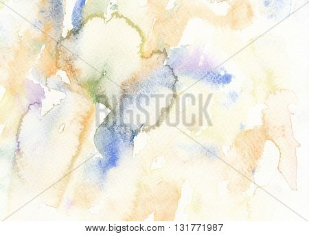 abstract wet paint watercolor textures artistic background