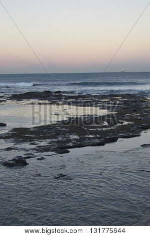 The Cowrie Hole, Newcastle beach, Newcastle NSW, Australia