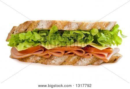 Ham And Salad Sandwich