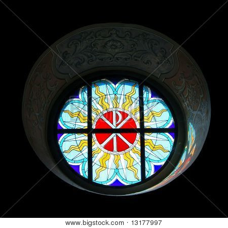 Catholic Church Stained-glass Window