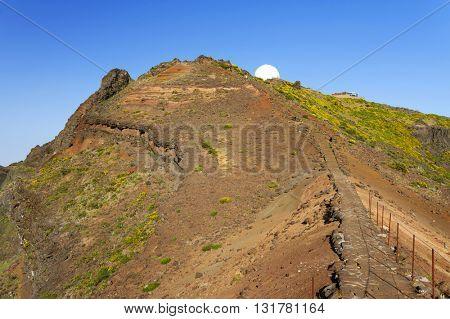 Alpine landscape in Madeira Island, Portugal, Europe