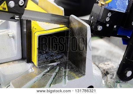 The image of an automatic saw