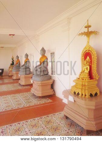 Buddha temple Khao Yai National Park Korat Thailand