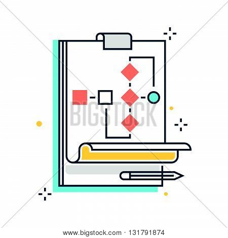 Color Line, Organization, Data Sheet Illustration