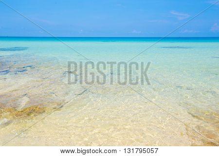 Beach at Koh kood island Trat province Thailand