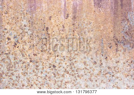 old metal rust texture background used as background