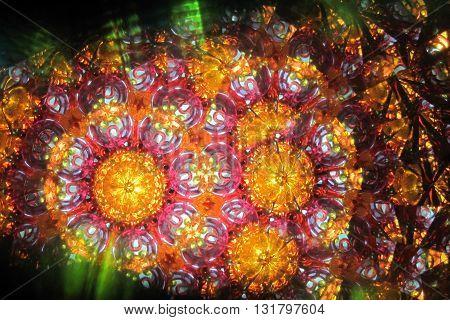 Color Kaleidoscope Texture