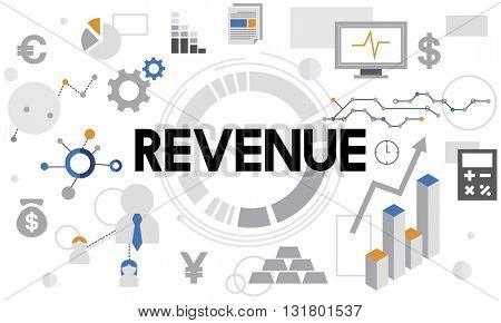 Revenue Investment Money Profit Income Concept