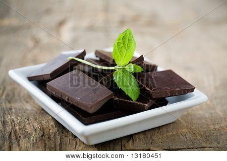 Chocolate de menta