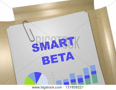 Smart Beta Business Concept