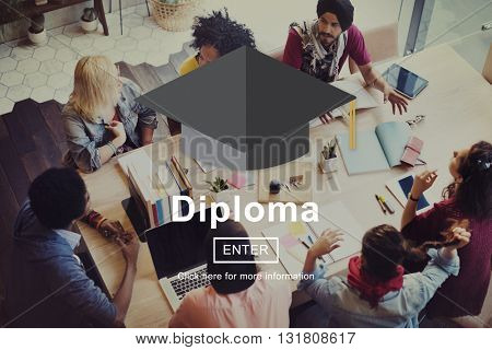 Diploma Education Degree Graduation Learning Concept