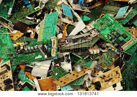 Electronic Circuits Garbage