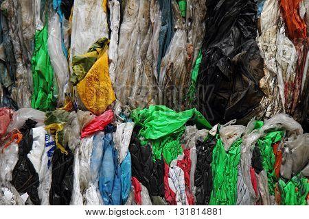 Color Plastic Garbage