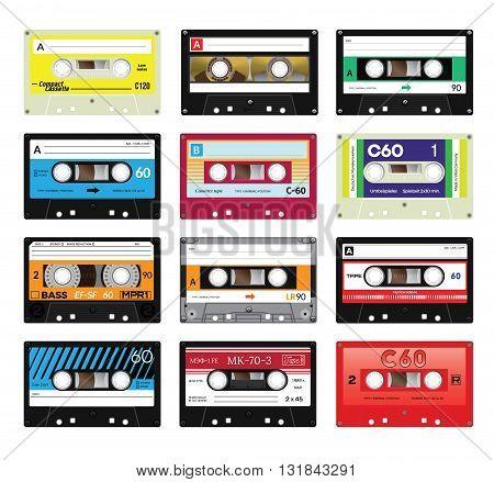 Vintage Cassette Tapes Vol 4