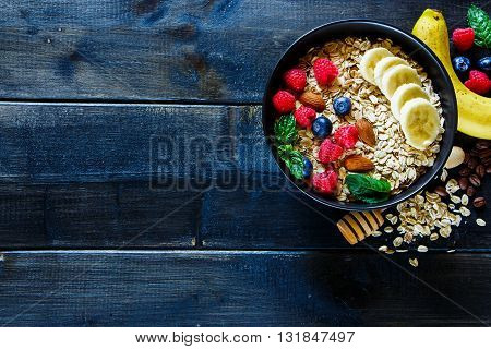 Healthy Breakfast Composition