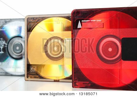 Audio Mini Discs For Music