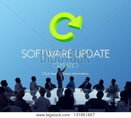 Software Update Program Digital Improvement Concept