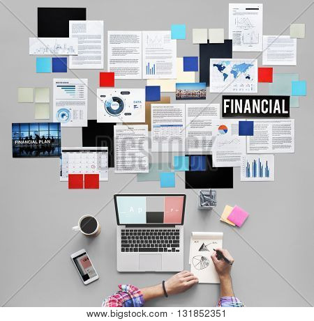 Financial Investment Management Banking Concept