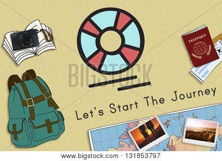 Travel Destination Excursion Concept