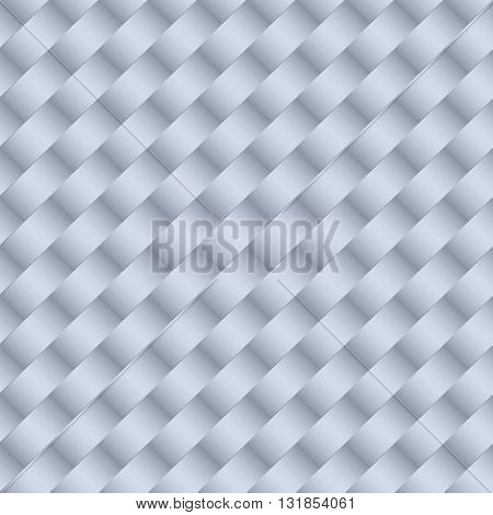 Minimalistic concept modern style wallpaper with geometric seamless pattern gray background