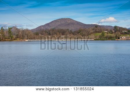 Lake Junaluska in Maggie Valley North Carolina