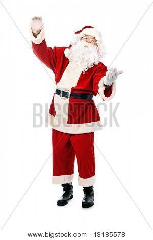Tema de Natal: feliz Natal. Isolado sobre o fundo branco.