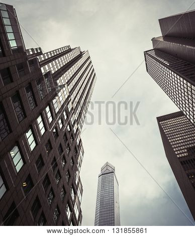 Modern Architecture Of Manhattan