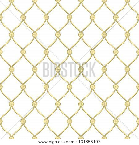 Vector abstract architectural detail for forged fence gold background. Can be used in cover design book design website background CD cover advertising.