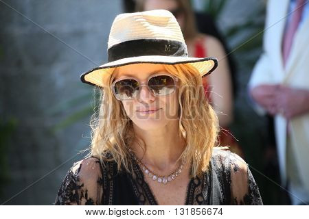 CANNES, FRANCE - MAY 20: Vanessa Paradis attends the Mayor's lunch given in honour of the media at Place de la Castre during the 69th Cannes Film Festival on May 20, 2016 in Cannes, France.