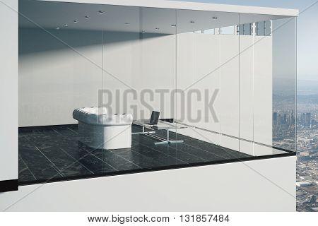 Glass Exterior And Interior
