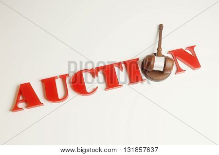 Auction Gavel Top