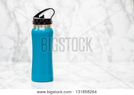 Blue Steel Thermos