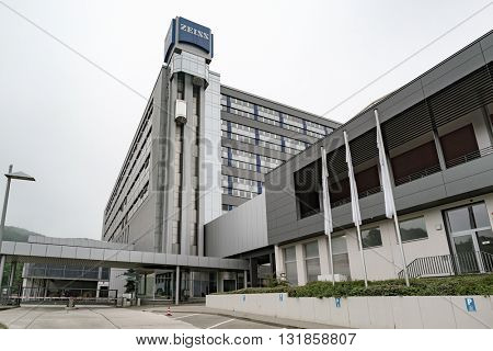 JENA, GERMANY - MAY, 29, 2016: Headquarters of Carl Zeiss Meditec AG