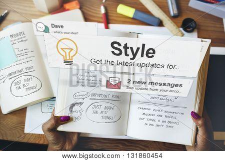 Style Trendy Fashionista Designer Chic Cenecpt