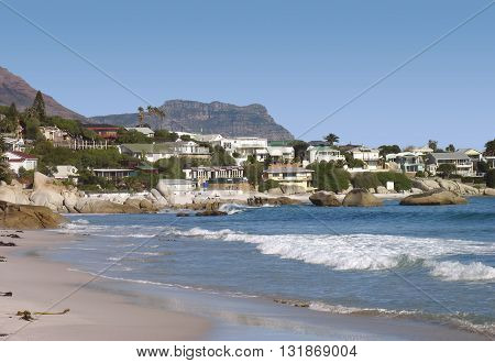 View From Clifton Beach Cape Town South Africa 07